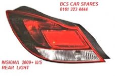VAUXHALL INSIGNIA  2009+  N/S REAR LIGHT   PASSENGERS SIDE REAR (1)